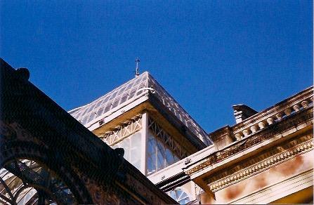 madrid fotografía analógica exterior palacio de cristal el retiro