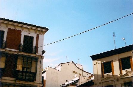 madrid fotografía analógica edificio