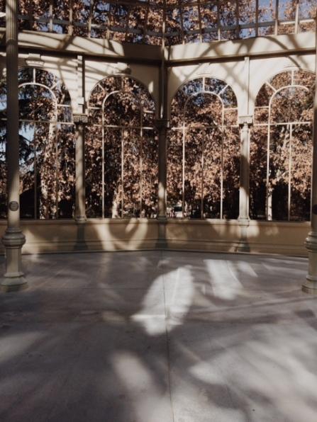 madrid fotografía analógica interior palacio de cristal el retiro